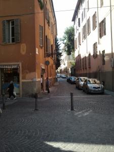 Street in Fornovo, Italy