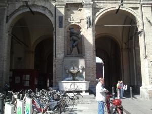 Wrestling Men, Parma, Italy
