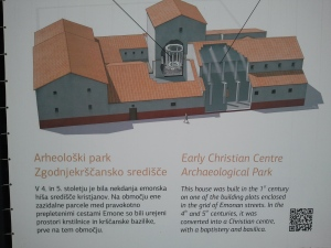 artist's conception of what was originally on the site