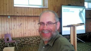 Alan at Camp IAWAH July 2013