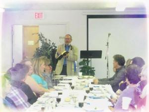 Alan Leading Passover Seder